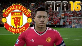 FIFA 16 Manchester United Faces / Caras
