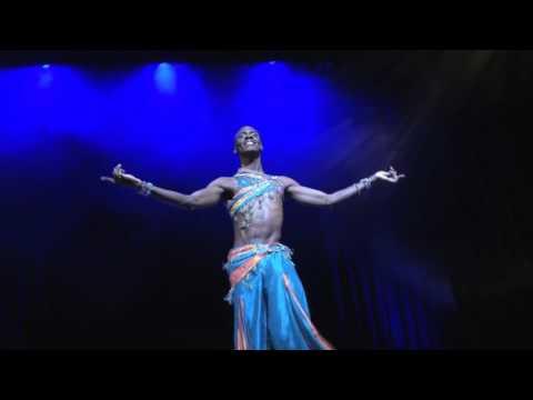 Rachid Alexander, Male belly dance, Aish Maaya رقص شرقي