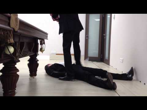 Shooting a scene for Insane Office Escape 2 goes wrong