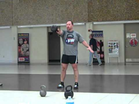 Mastering the Kettlebell Swing, High Pull and Snatch Combination Image 1