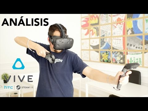 Análisis HTC Vive, review a fondo en español