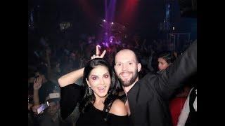 Sunny Leone at Spree Club Dubai - Latest Video