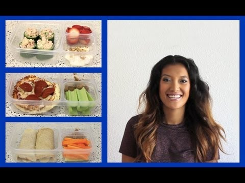 Healthy Habits: 3 SchoolWork Lunch Ideas