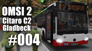 OMSI 2 mit dem Citaro C2 durch Gladbeck Linie SB91 #004