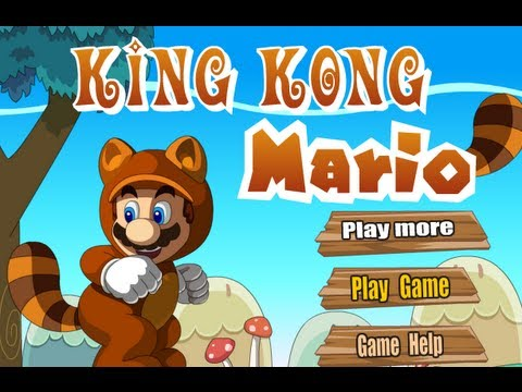 King Kong Mario Level1-5 Walkthrough