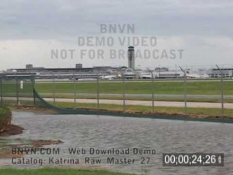 8/29/2005 Hurricane Katrina, aftermath - New Orleans Airport - Katrina Raw Master 27