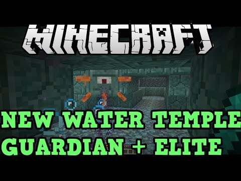 Minecraft (Xbox 360 / PS3): Water Temples and Guardians Explained