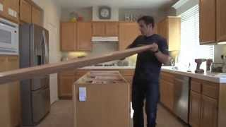 01.Ikea Butcher Block Installation - Kitchen Remodel_1