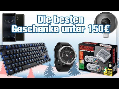Die 6 besten Technik-Geschenke unter 150 Euro (Weihnachten 2017)