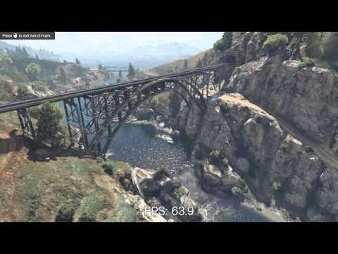 Grand Theft Auto V - Benchmark Test [R9 280X] 1080p