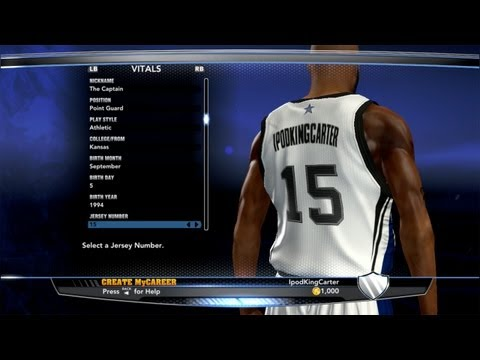 Nba 2k14 My Career - Creation Of Athletic Point Guard | The Return Of Ipodkingcarter video