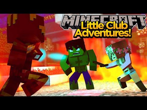 Minecraft Little club Adventures - Little Kelly Fights A GIANT HULK!!!