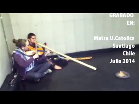 CC: Violin and Didgeridoo trance - Metro U.Católica