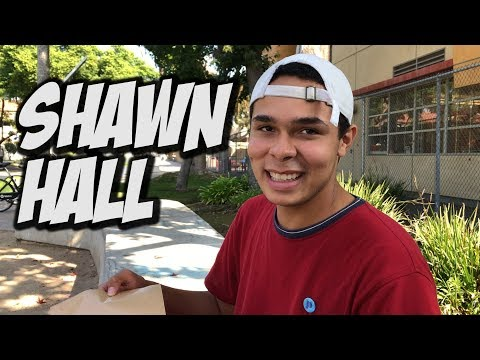 SHAWN HALL RIPS AT SKATEBOARDING ??? - NKA VIDS -