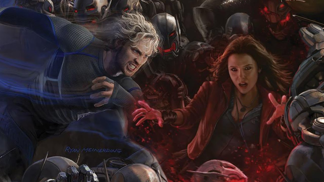 Quicksilver And Scarlet Witch Lovers Scarlet Witch