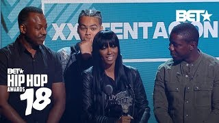 XXXTentacion's Mom Accepts His Best New Hip-Hop Artist Award | Hip Hop Awards 2018