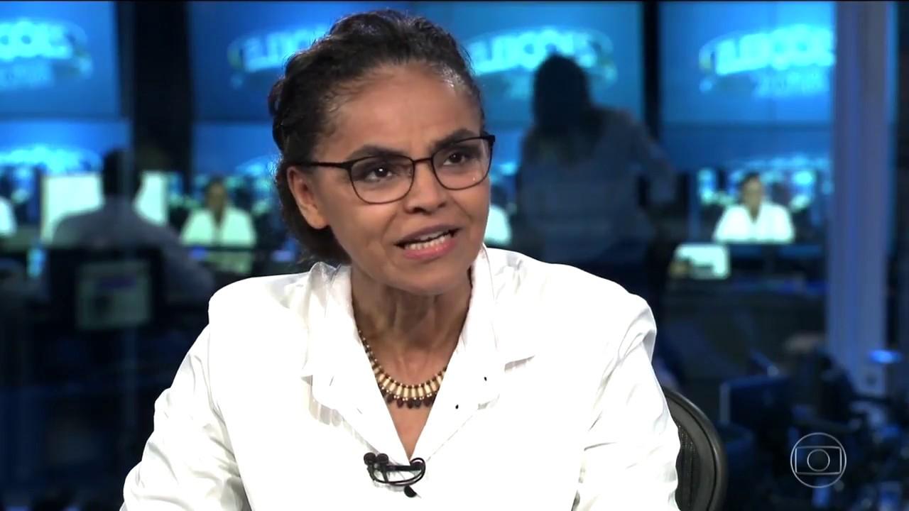 Marina Silva responde sobre sua Liderança Política e condições de Governabilidade.