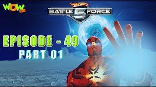 Motu Patlu presents Hot Wheels Battle Force 5 -Better Off Red - S2 E49.P1 - in Hindi