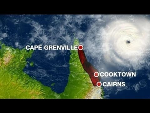 Cyclone Ita : Cyclone heads towards Cape Tribulation days before the Blood Moon (Apr 10, 2014)