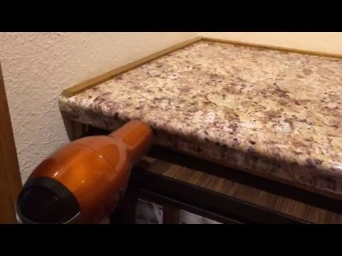 DIY Faux Granite Countertop