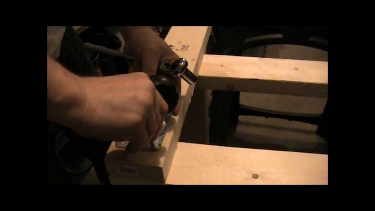 Building a simple boat motor stand youtube for Outboard motor for canoe