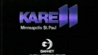 News11 KARE-TV Open from July 18, 1986 Minneapolis/St Paul