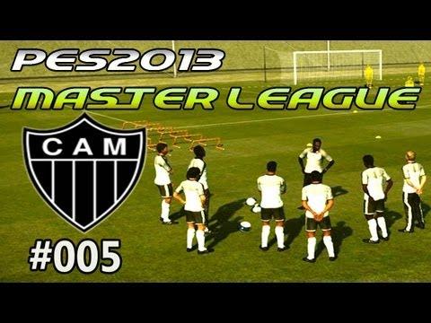 Gameplay PES 2013: Liga Master # 005 Atlético Mineiro vs Club Brugge KV