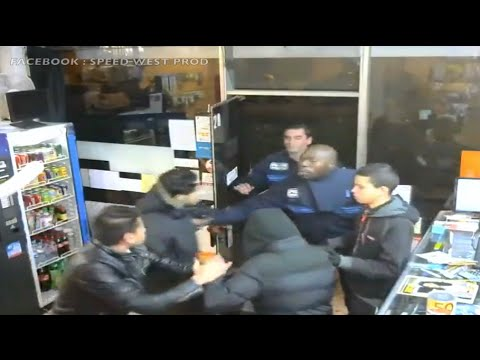 Jeunes Braqueurs Pris en Flagrant délit Par la Police Municipale (Cachan, France)