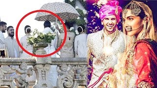 Ranveer Deepika Wedding Latest Visuals From #LakeComo #Ranveersingh #Deepikapadukone | Filmylooks