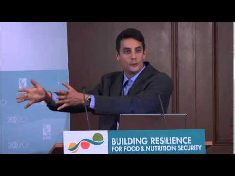 Side Event - Harald Langer on Exploring Resilience through the Global Food Security Index