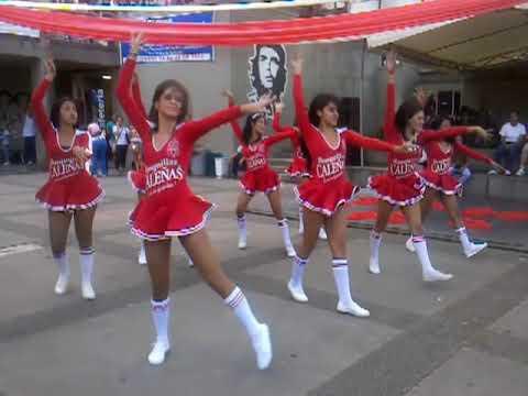 Porristas del America de Cali en Univalle San Fernando