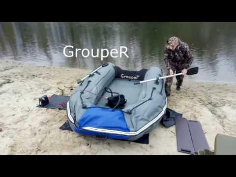 лодка групер 340 видео