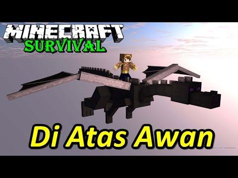 KAMU YAKIN BISA SURVIVAL PALING BAHAYA KAYA GINI ?? Minecraft Survival #1