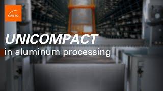 Honeycomb System: Bar Storage KASTO UNICOMPACT for aluminum