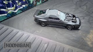 [HOONIGAN] DT 048: 1100HP Twin Turbo FC RX7 Gets Rowdy