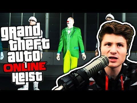 Unterwegs im Clownskostüm 😂| GTA Online | Dner