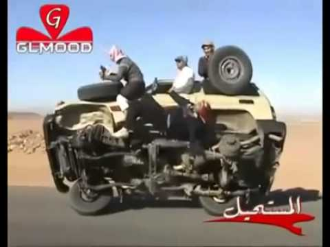 Crazy arab wheel change!!!