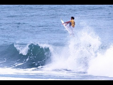 Heat Highlights - Jordy Smith vs. Adriano De Souza- Billabong Rio Pro 2013 Final