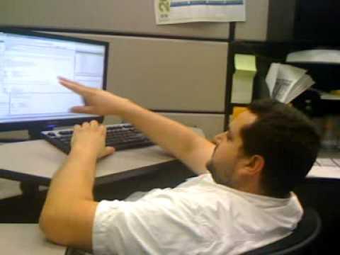 Dubé at work