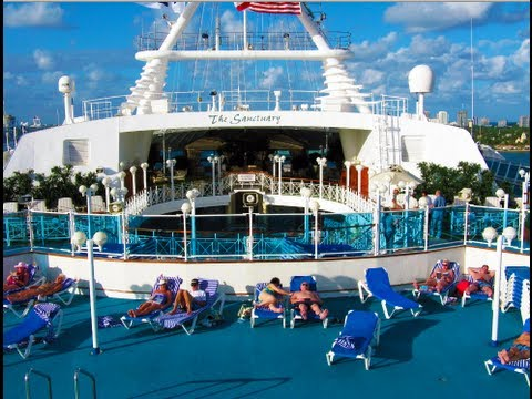 Grand Princess Cruise Ship Tour - Pool, Lobby, Balcony Room, Deck, Gym...