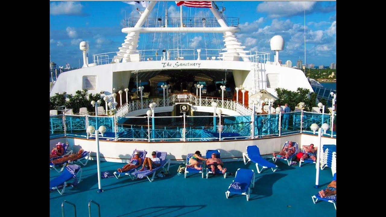 Grand Princess Cruise Ship Tour Pool Lobby Balcony