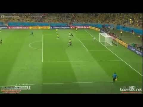 Brazil vs Germany world cup 2014 7-1 ! All Goals highlights