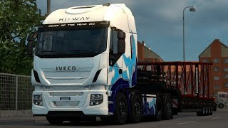 [1.30] Euro Truck Simulator 2   Iveco Hi Way Tuning v 1.4 by Afrosmiu   Mods 7.02 MB