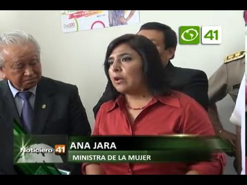 Ministra de la mujer inauguró Centro de Emergencia Mujer - Trujillo