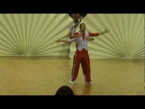Anna Miadzielec & Jacek Tarczylo - World Masters Lommel 2012