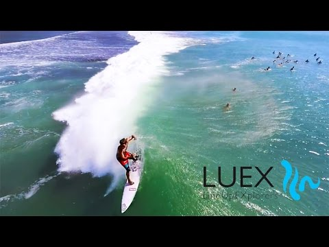 LUEX Balinese Perfection from the Air | SURFING in Bali | Drone Surf Footage