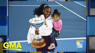 'GMA' Hot List: Serena Williams donates prize money to wildfire efforts in Australia l GMA Digital