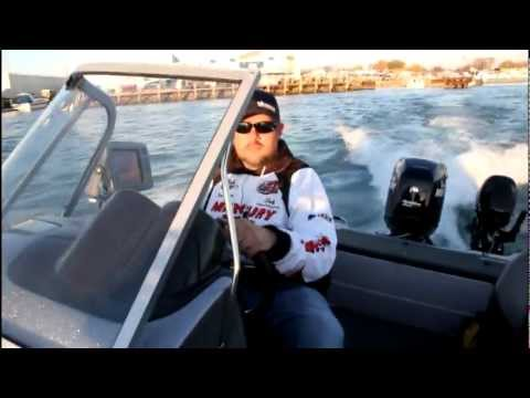 Jigging the Detroit River in October