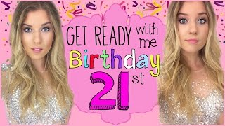 Get Ready with Me: My 21st Birthday in VEGAS! ♡