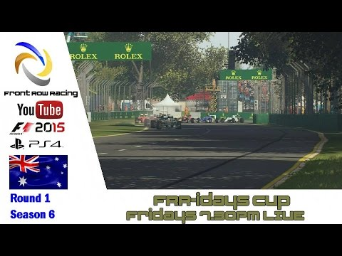 Front Row Racing FRR-idays Cup Australia Round 1 F1 2015
